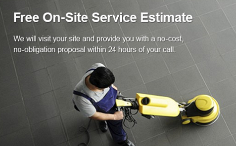 Free Commercial Cleaning Estimate Image 2