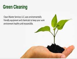 Post Cosnstrtuction Green Cleaning Products Image