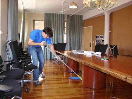 Clean Master Jacksonville FL. Cleaning Office Floor Image